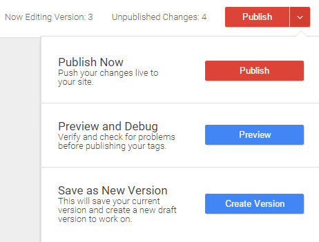 Preview google tag manager
