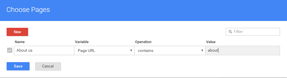 Google Tag Manager some pages console